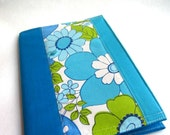 choose your own.... sustainable covered journal combo...vintage quilted patchwork notebook