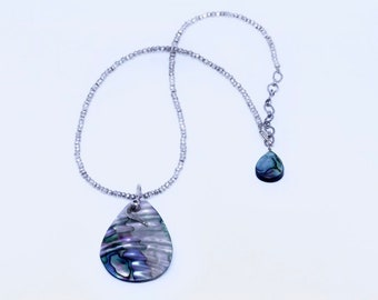 Pava Shell Necklace