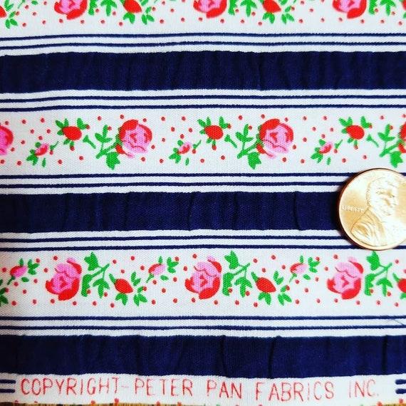 Generous 1 4 Yard Vintage Peter Pan Industries Inc Seersucker Etsy