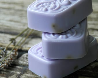 Lavender Mint Soap . Homemade Soap . Galentines Day Gift . Valentines Day Gift for Mom . Best Friend Birthday Gift . Bridal Shower Favors