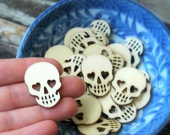 20 . Mini Sugar Skulls . Day of the Dead Dia De Los Muertos . Halloween Favor . Halloween Party Favors . Sugar Skull Wedding Favors