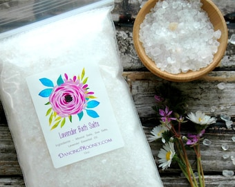 Lavender Bath Salts . Mothers Day Gift from Daughter . Mother Gift . Best Friend Birthday Gift . Mother's Day Gift for Mom . Gift for Women