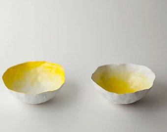 Small Yellow Fade Bowl Set
