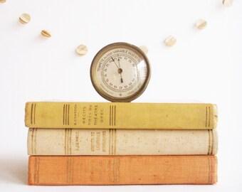 Brass Barometer - French Vintage