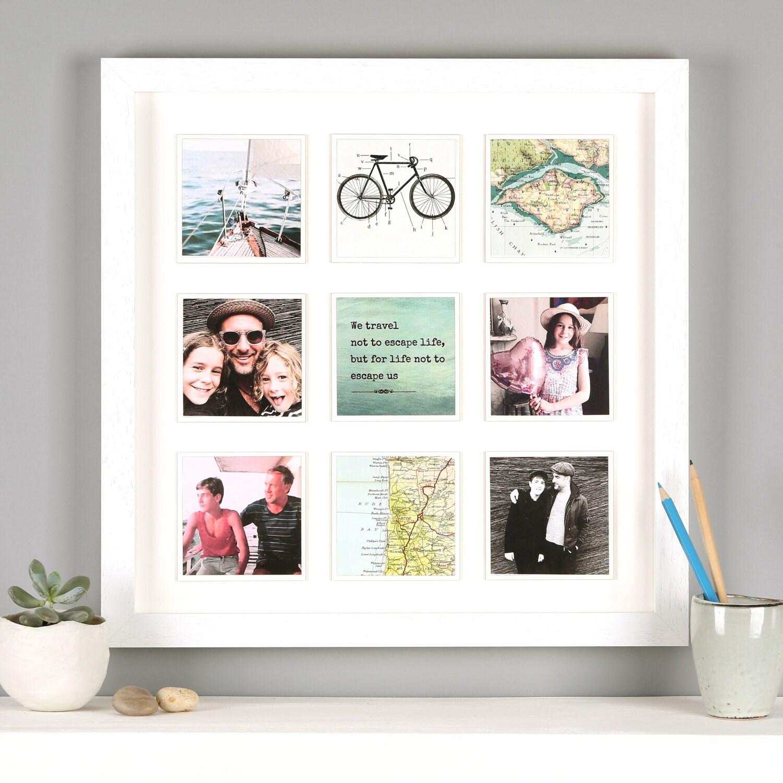 Beste Individuelle Collage Bilderrahmen Gemacht Fotos - Rahmen Ideen ...