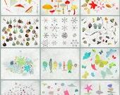 4 seasons - Any 4  prints