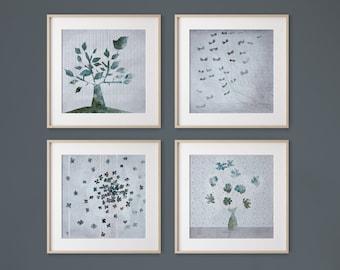 Turquin Set of 4 prints