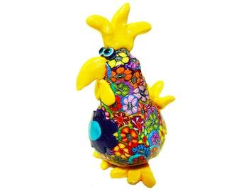 Chicken sculpture, chicken figure, chicken decor, collectible chicken, chicken decoration, chicken art, chicken, chicken figurine