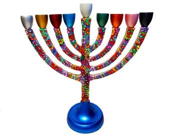 Hanukkah Menorah, Jewish Hanukkah Lamp, Hanukkah Decor