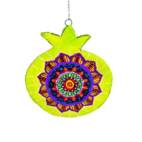Bat Mitzvah Gift Pomegranate Jewish Art Jewish Symbol Etsy