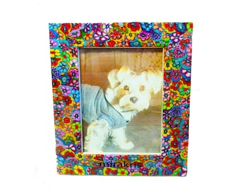 Colorful and Unique Photo Frame