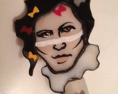 Adam Ant stained glass po...