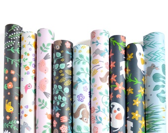 Wrapping Paper Set of 3