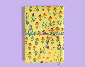 Meadow Wrapping Paper 1 Sheet