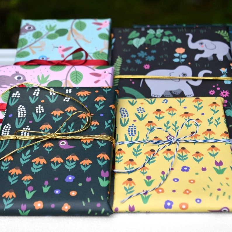 Wrapping Paper Set of 3 image 0