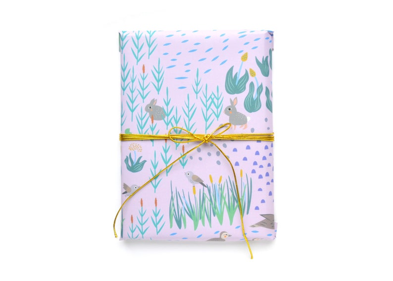Marsh: Dusty Pink Wrapping Paper 1 Sheet image 0