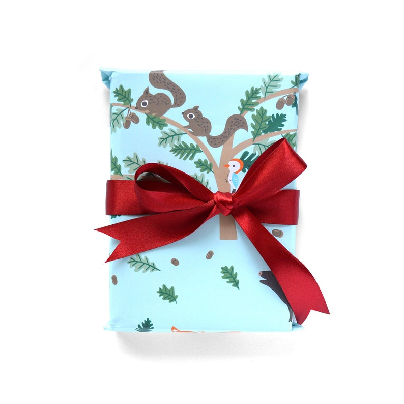 Wild Forest Wrapping Paper 1 Sheet image 0