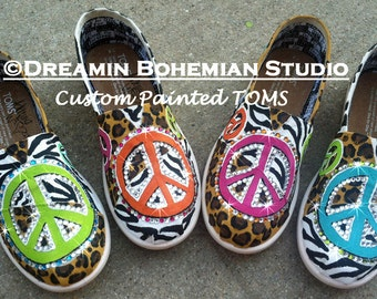 9921b69180b Painted TOMS Shoes