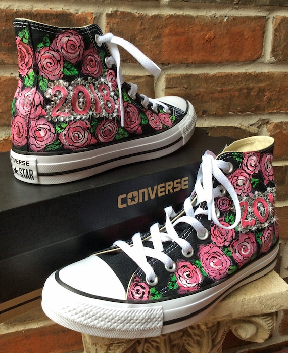 Converse Chuck Taylor All Star Hi Pink Paper Textile Baby
