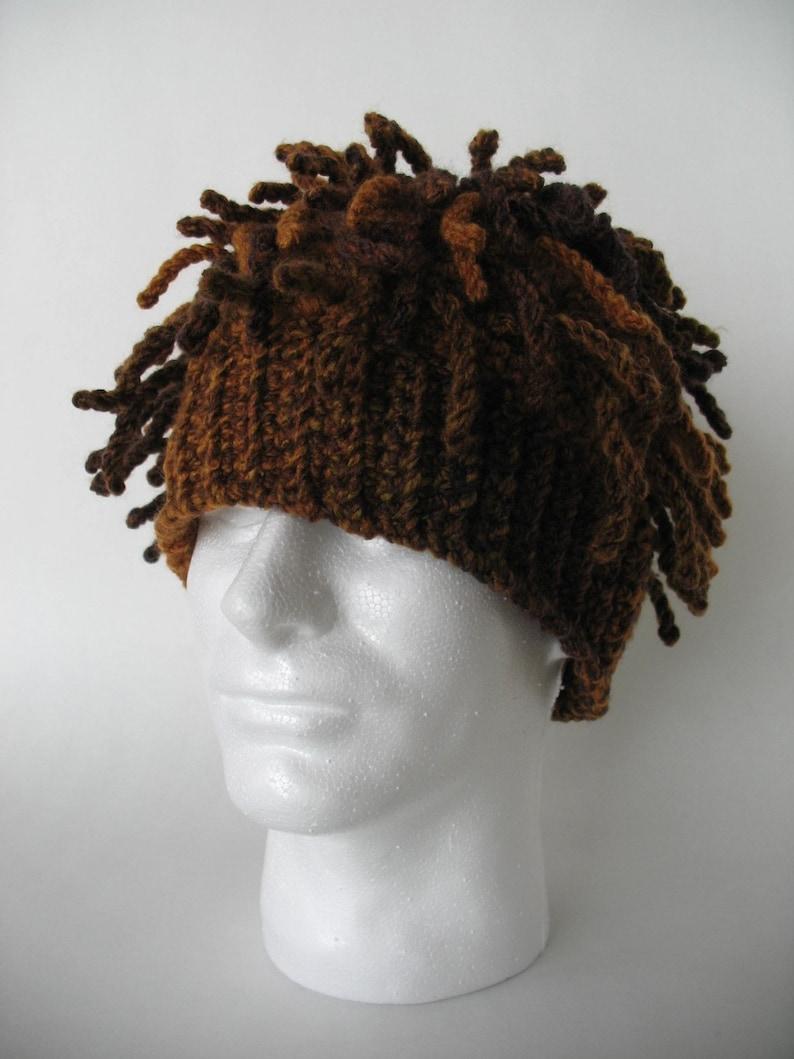 17f7fcbbe23 Funky Dreads Ski Hat Crochet Pattern