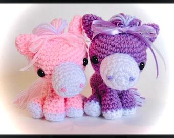 Cotton Candy Horse PDF Pattern