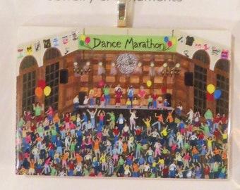 Dance Marathon Ornament, Fund Raiser, Cancer Fight