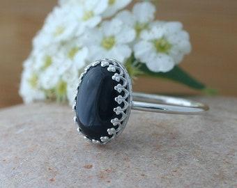 af8d58dee Black Onyx Ring Sterling Silver