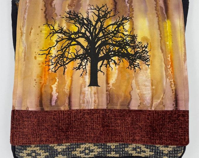 "Tree Messenger Bag 12"" Oak Sunset"