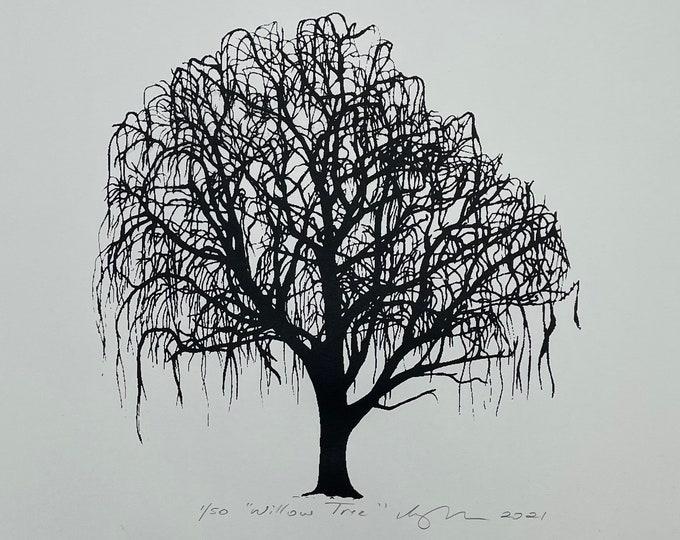 Willow Tree Print