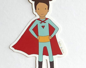 Supergirl Sticker