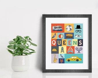 My Queens Print, Fine Art Print by Kate Durkin