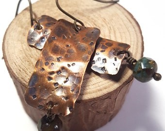Rustic Dangle Earrings 2