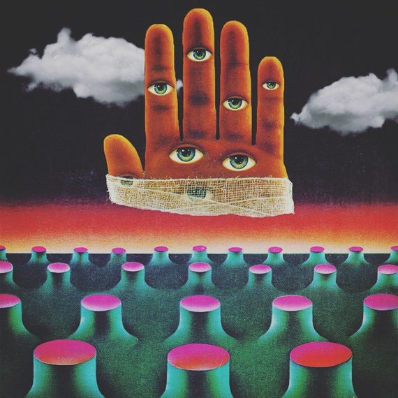 Vintage Sci Fi Art Added A New Photo: SCI-FI COLLAGE Vintage Art Surreal Colorful Mixed Media