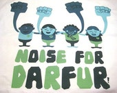 NOISE FOR DARFUR T-shirt Your purchase helps to make clean water accessible in Darfur SWEAT FREE
