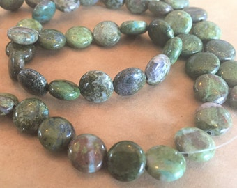 Item # 5480 Green Amethyst Rounds