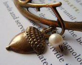 Falling Acorn Bracelet