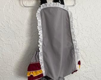 Retro Ruffler - Wizard School - Jumper - Sunsuit - Romper - Girl - Baby - Toddler costume