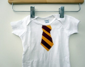 Tie Onesie - Wizard Student ONESIE ONLY - other colors available