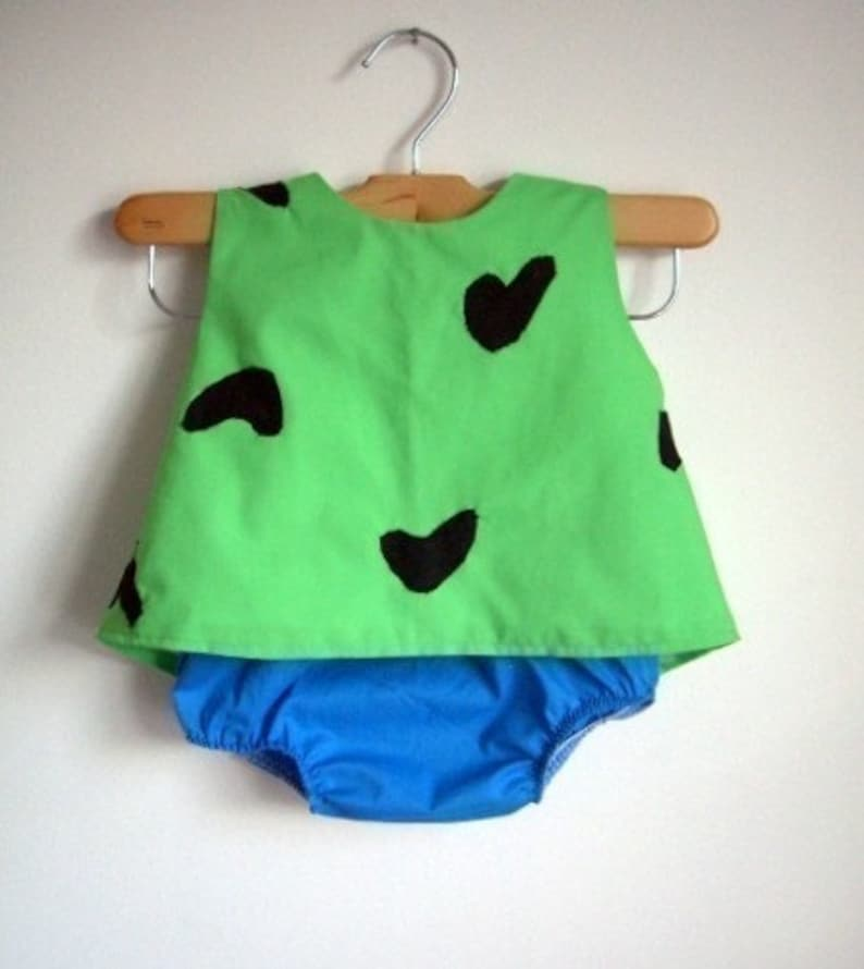 Pebbles Costume   Baby   Toddler   Girl   Halloween Top And Bottom   Raegun
