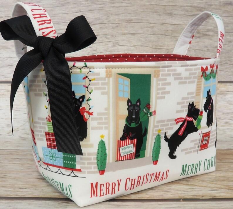 Christmas Holiday Xmas  Storage Organization Container Bin image 0
