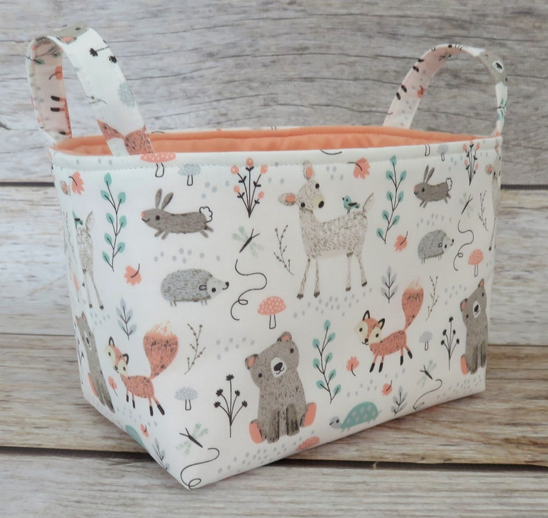 Diaper Caddy READY TO SHIP  Organization   Woodland Baby image 0