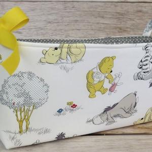 Winnie The Pooh Eeyore Photo Prop Diaper Caddy 10 Baby Shower Card Box Nursery Decor Tigger Nursery Bin Baby Shower Gift