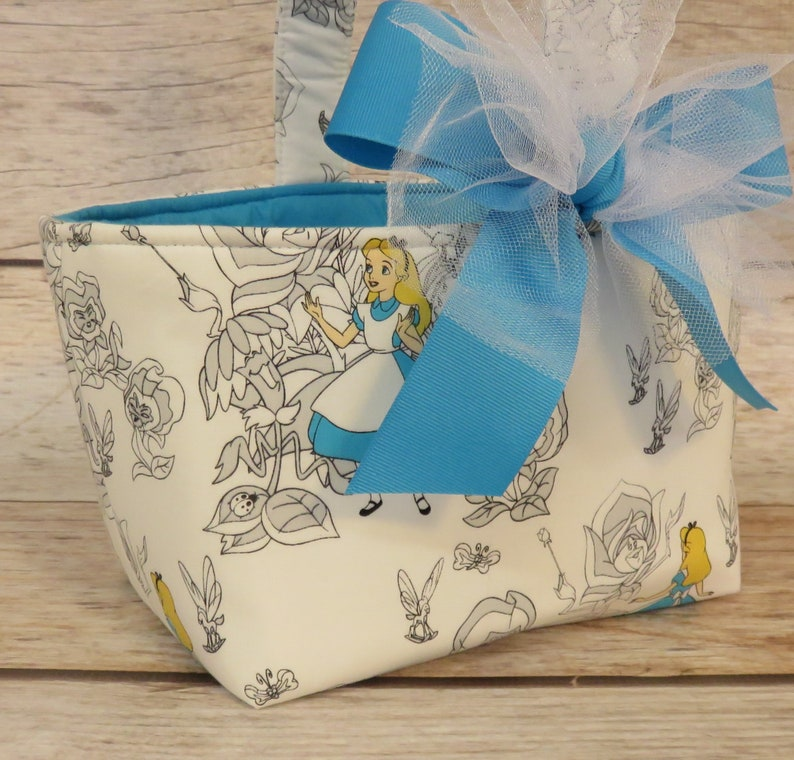 READY TO SHIP  Halloween Trick Treat Candy Bag Basket Bucket image 0