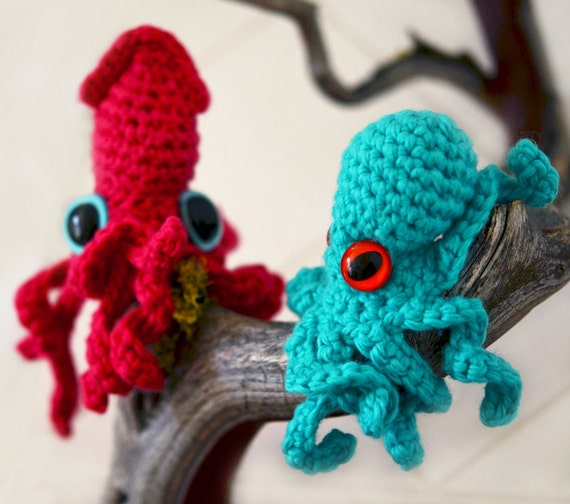 "Amigurumi – Crochet Baby Octopus ""Iane"" - premium & free patterns ... | 504x570"
