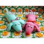 PDF Crochet Pattern - Weiner Dog Plush Toy