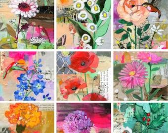 Birth Flower 12-Print Set
