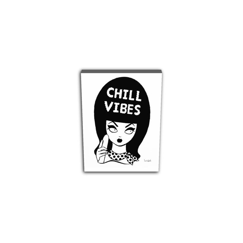 Chill Vibes Print on Canvas. image 0