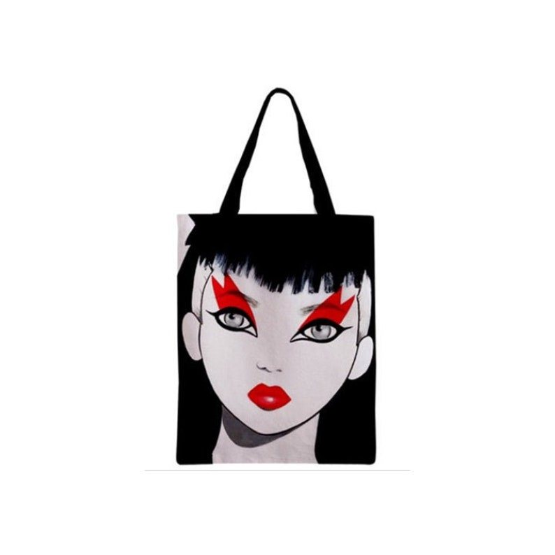 Ladies and Gentlemen The Fabulous Stains Zippered Tote Bag. image 0
