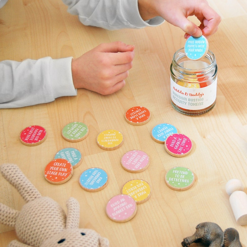 PERSONALISED DADDY And ME Boredom Busting Activity Jar