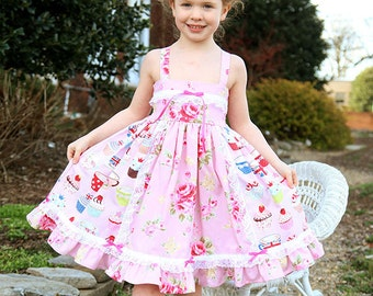 Pink Dresses for Girls for Tea Party